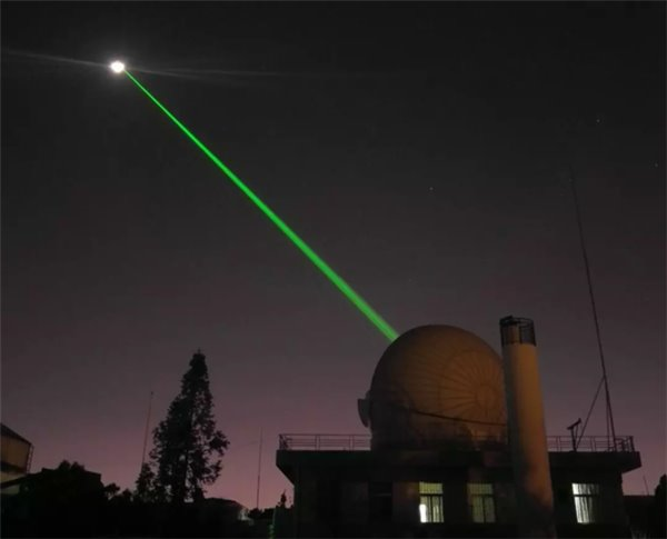 China's first successful lunar laser ranging accomplished