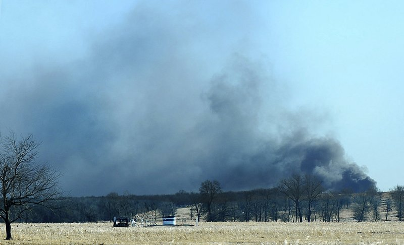 5 missing after Oklahoma rig explosion
