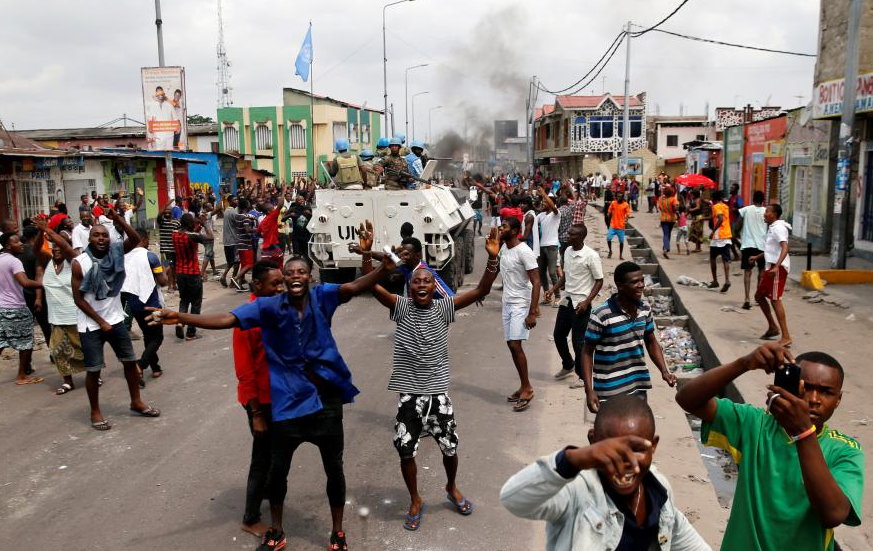 UN chief voices concern over violence against demonstrators in DRC