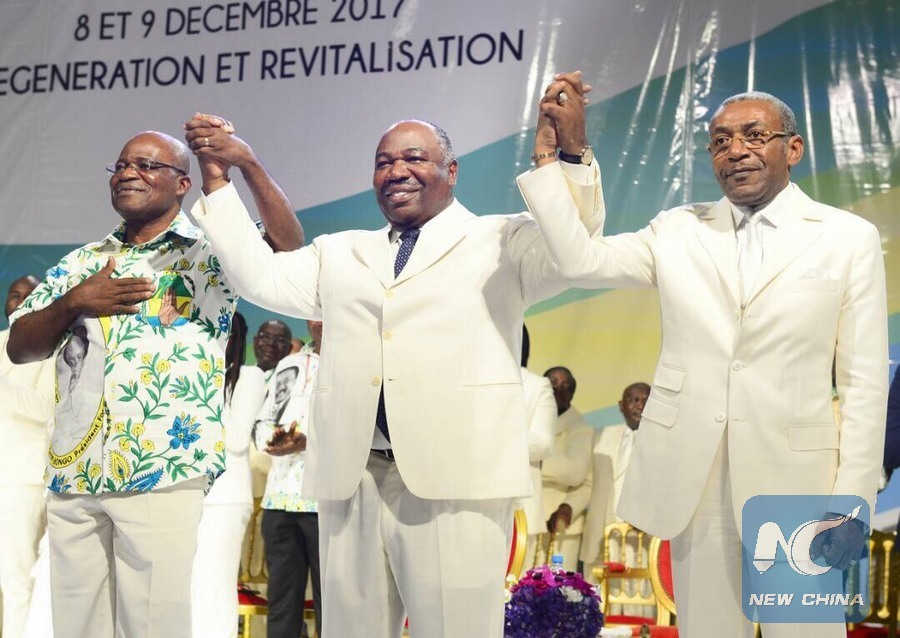 Gabon ruling party says CPC experience in demand