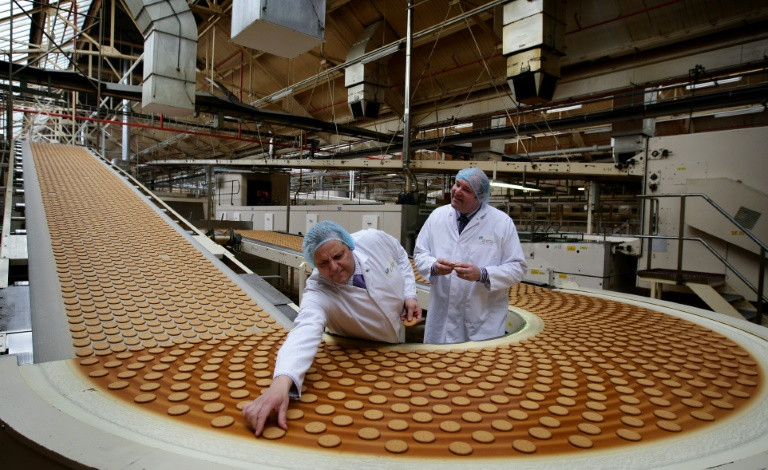 British Digestives biscuit lovers hit by Brexit squeeze