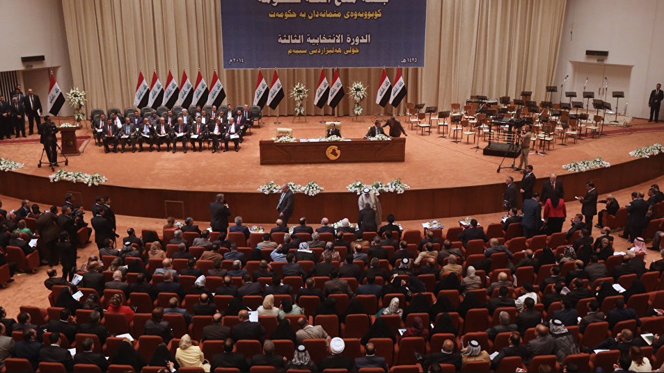 Iraqi parliament postpones session on elections' date amid political row