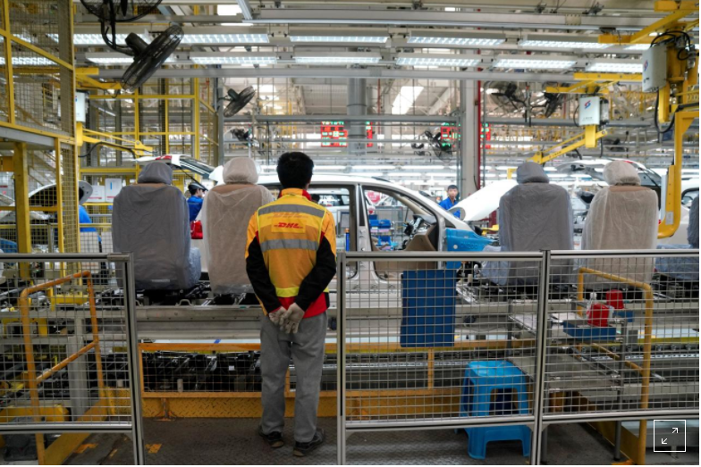 Exclusive: GM, DHL use a Chinese plant to lead manufacturing change