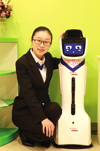 Robo-helpers are being added to bank staff as AI technology penetrates the finance sector in China