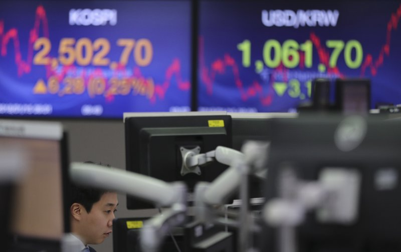 Dollar's fall weighs on global stocks as US shut for holiday