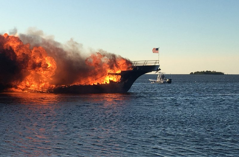 Casino says boat that caught fire had no issues