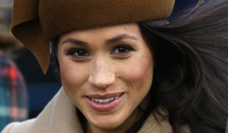 UK party suspends leader's girlfriend over Markle remarks