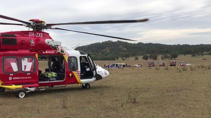 Six injured in Australian balloon accident