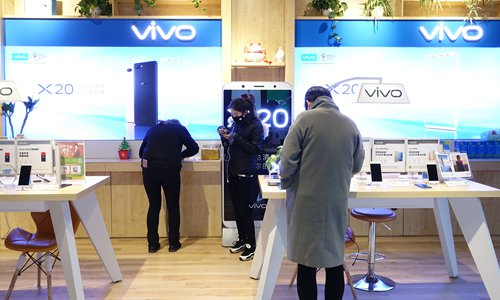 Vivo mobile unveils in-display fingerprint technology