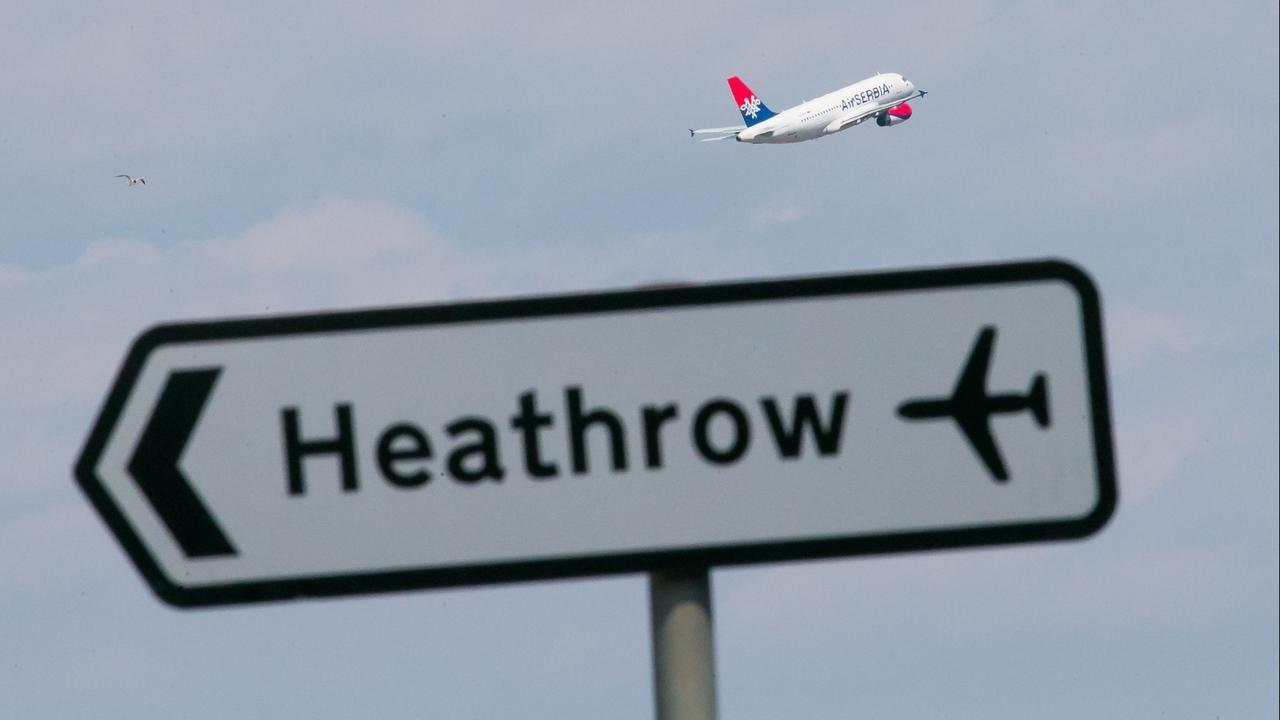 British woman arrested for 'preparing terrorist acts' at Heathrow Airport