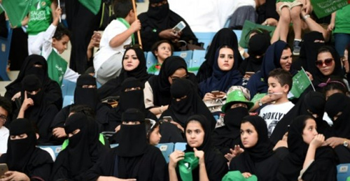 Saudi women to attend football game for first time