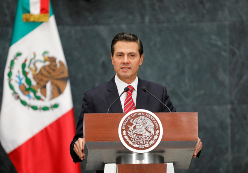 Mexican president says 'optimistic' about NAFTA deal