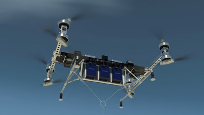 Video: Boeing unveils new unmanned giant cargo drone