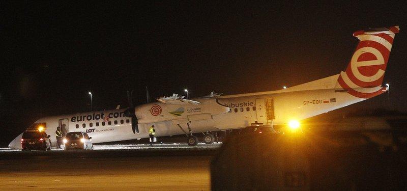 Polish plane makes emergency landing