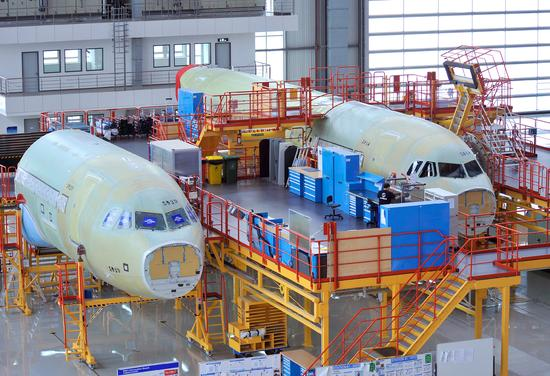 Airbus to produce six A320 jets a month at Tianjin plant