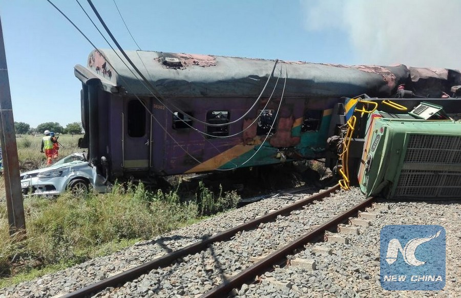 226 people injured in South Africa trains collision