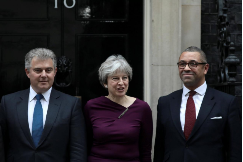 Hoping for a new start, Britain's May appoints new Conservative Party head