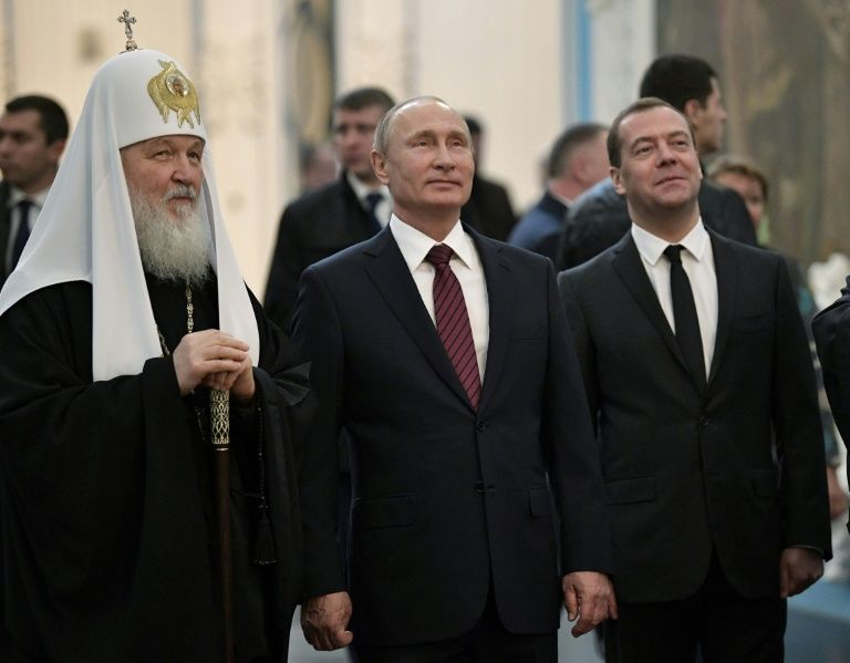 Heads of Ukrainian, Russian churches divided in Christmas messages