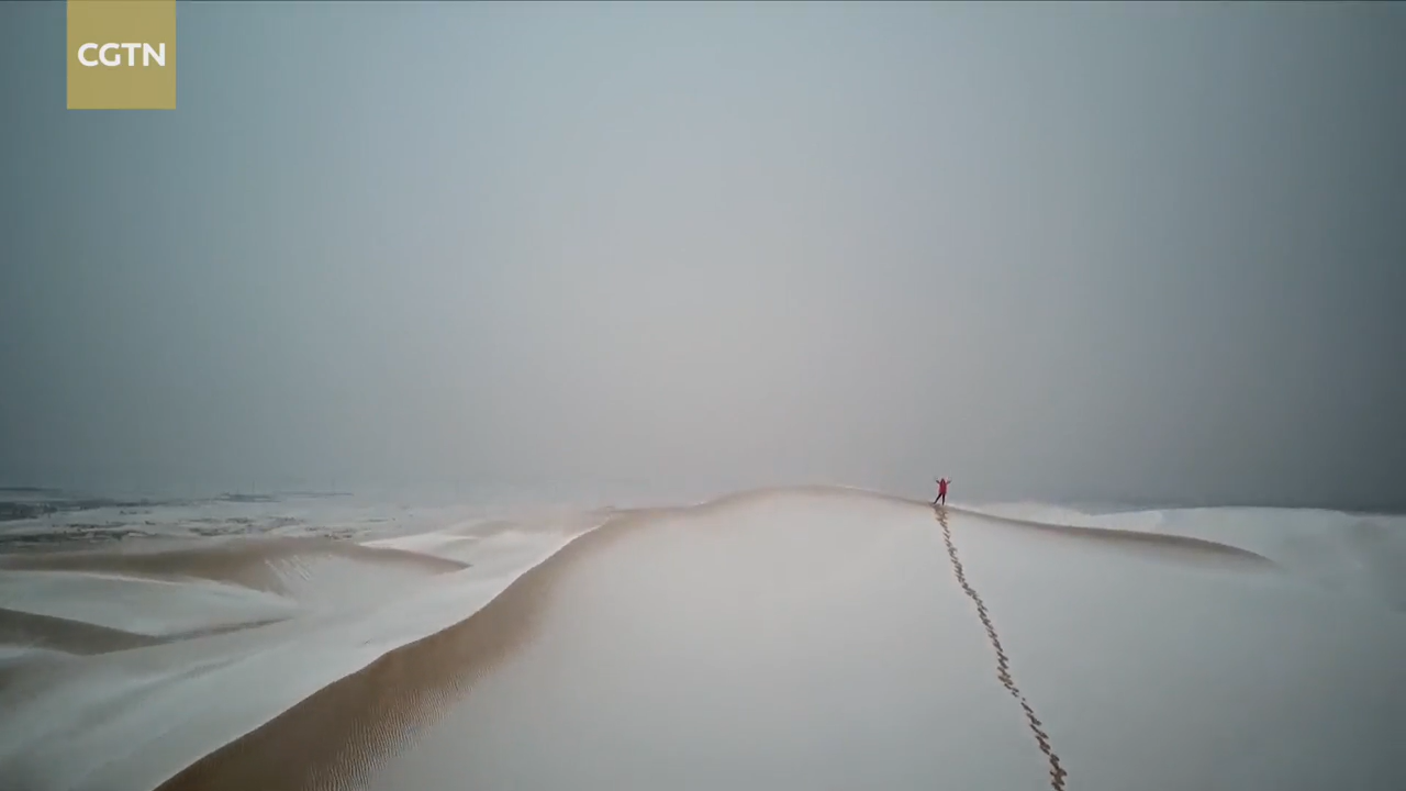 Video: First snow brings the beauty of winter across China