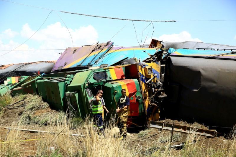 Four dead, dozens injured in South Africa train crash