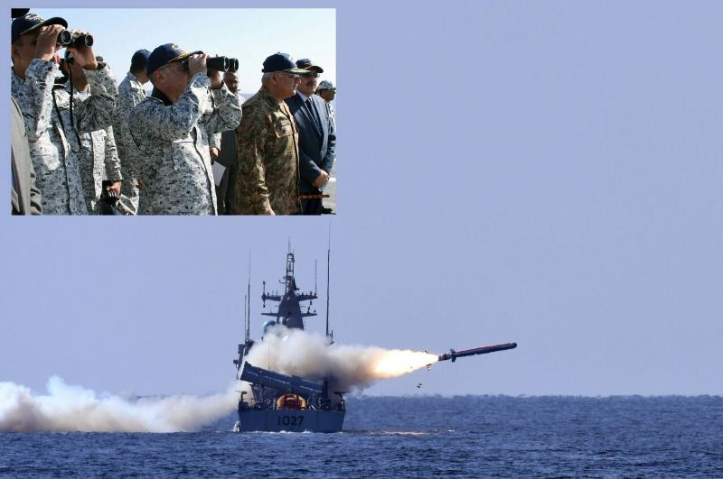 Pakistan test-fires surface-to-surface anti-ship missile