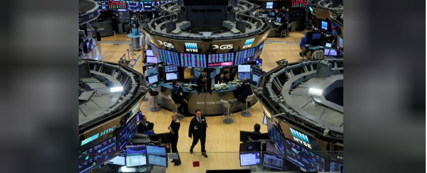 Wall Street off to strong start to 2018 as techs gain