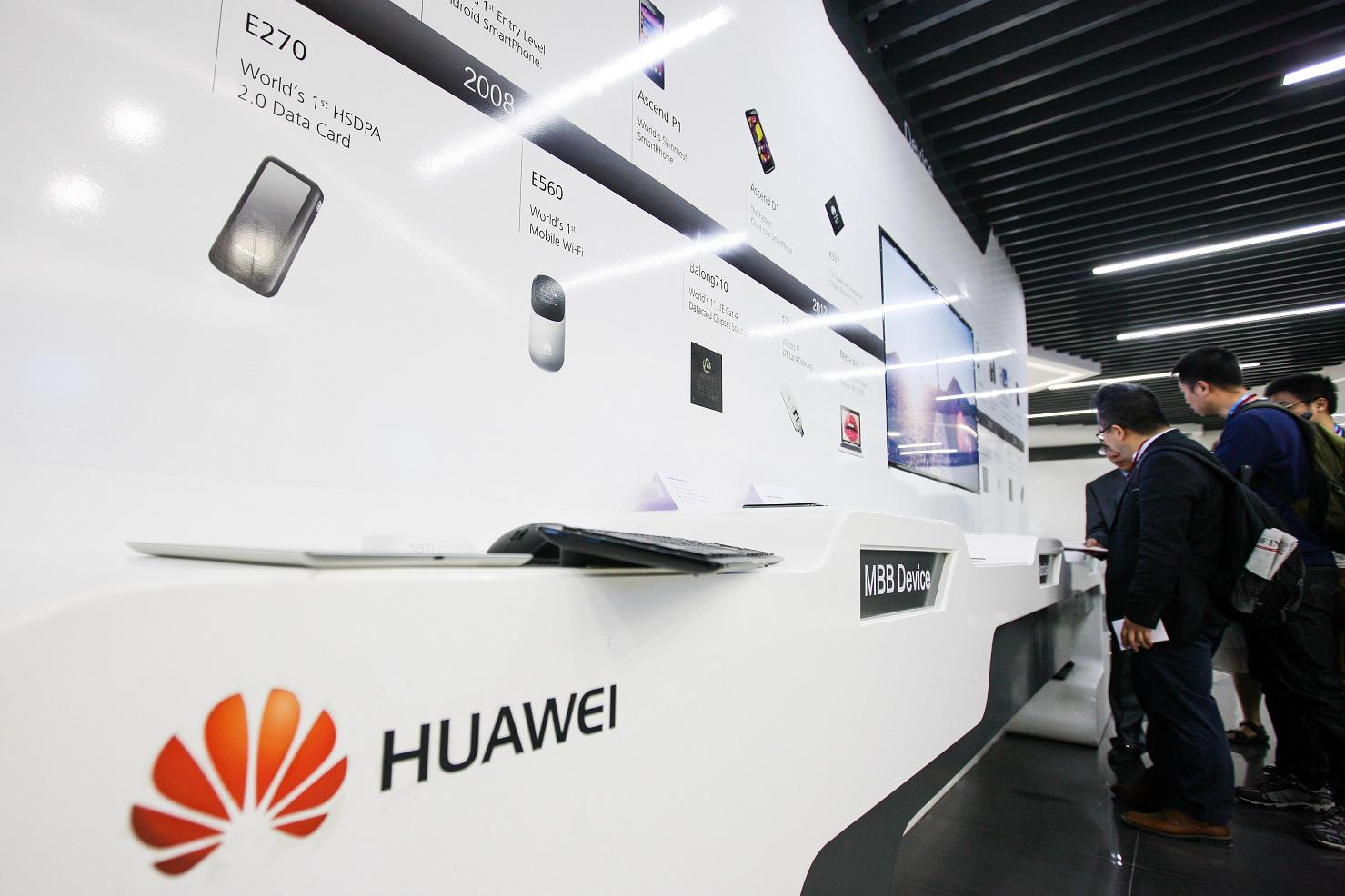 Image result for huawei Xinhua