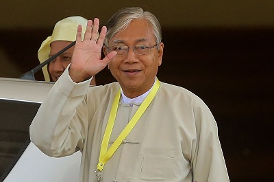 Myanmar president calls on people to work with government to build prosperous nation