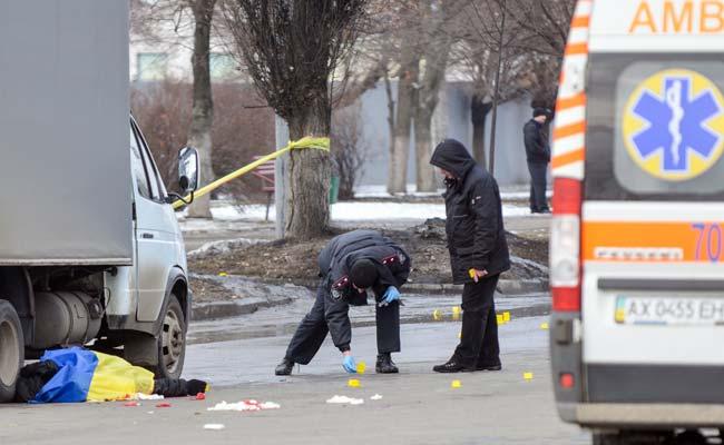 Blast Wounds 10 in Kharkiv, Eastern Ukraine Says Police