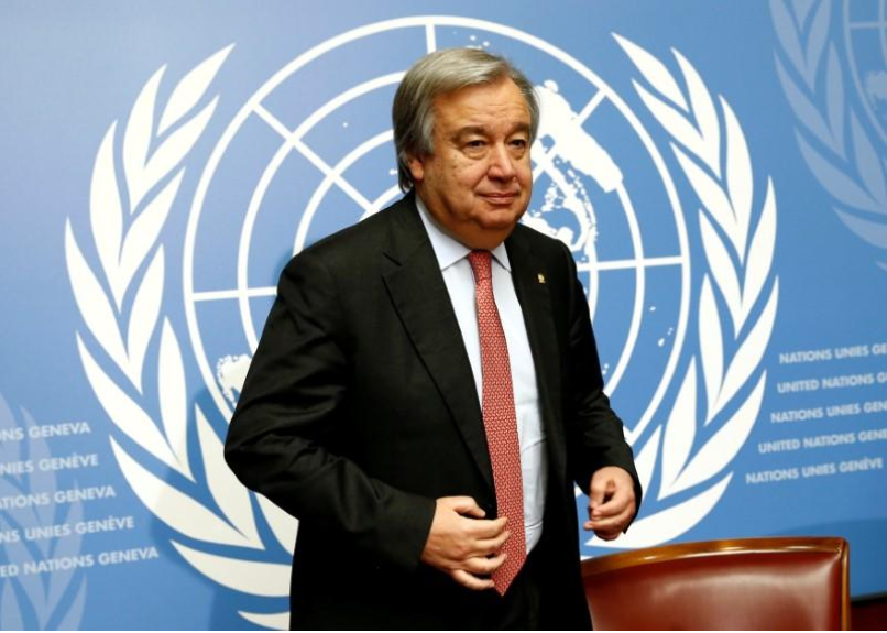 UN chief condemns attack on church near Cairo of Egypt