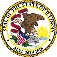 Image result for illinois flag