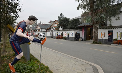 China's soccer renaissance transforms village into thriving community