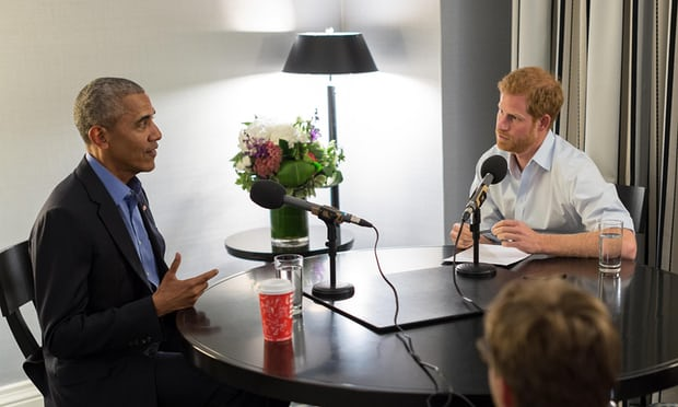 Obama to Prince Harry: 'Serenity' on leaving White House