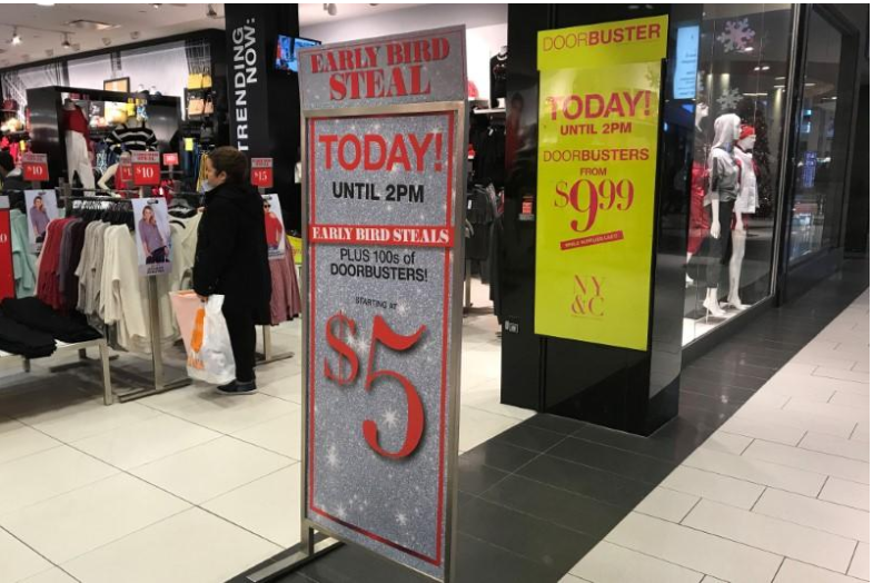 US department store stocks jump on holiday spending record