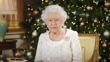 UK queen laments terror attacks in Christmas message