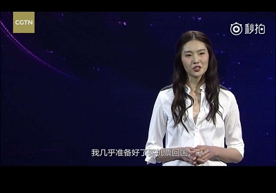 Video: Bonnie Chen,the tough girl beneath her make-up