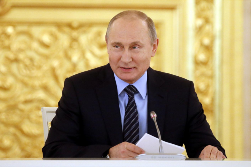 Russia's ruling party seeks Putin's 'ultimate victory' at 2018 election
