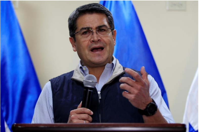 US backs re-election of Honduran president despite dispute