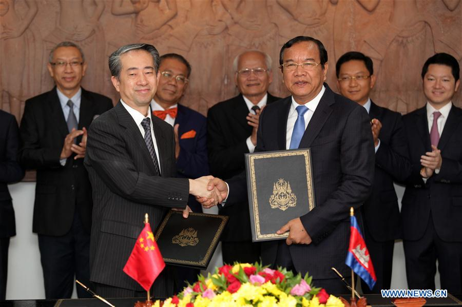 China, Cambodia sign first special fund projects of Lancang-Mekong Cooperation