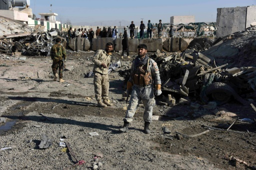 Taliban kill at least six Afghan police in Humvee suicide attack