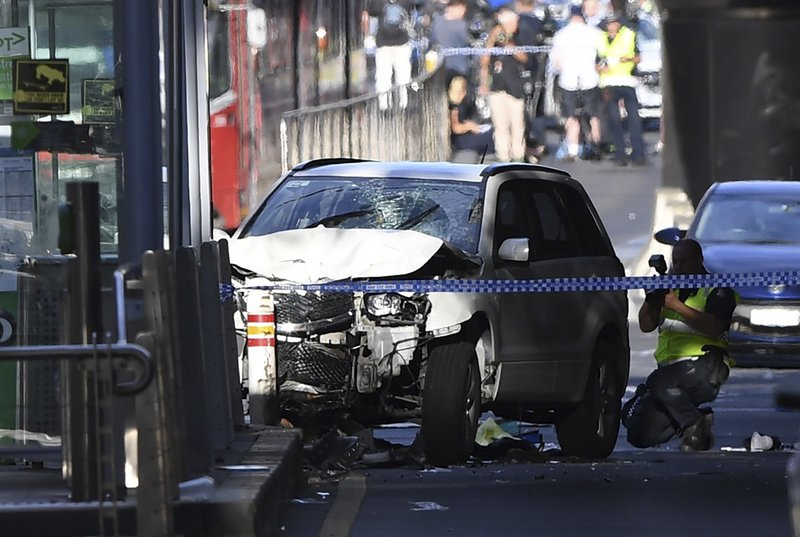 Driver plows car into Melbourne crowd; no known terror ties