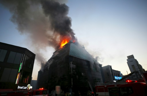 Death toll rises to 29 in S.Korean building fire, 26 injured