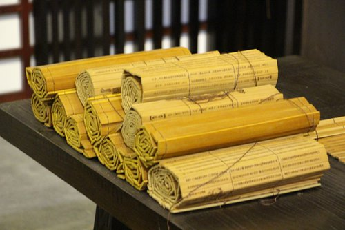 Explore the ancient Chinese history recorded on the 'Shuihudi Bamboo Slips of the Qin Dynasty'