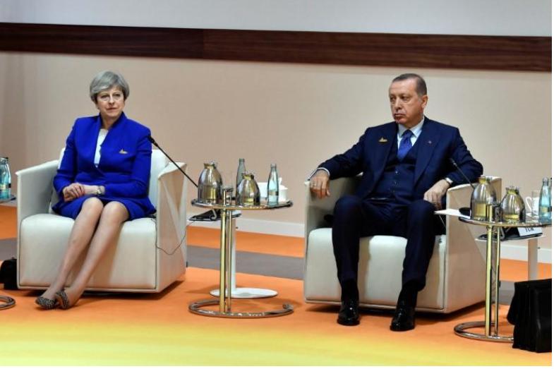 Erdogan, May say international community should be active in solving Jerusalem issue