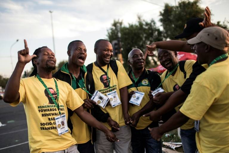 Result expected as S.Africa's ANC elects new leader