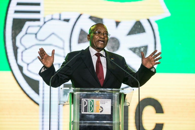 S. Africa's Zuma bemoans state of ruling ANC