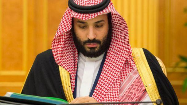 Saudi Crown Prince Mohammed bin Salman attends a cabinet meeting in Riyadh, Saudi Arabia, November 28, 2017.