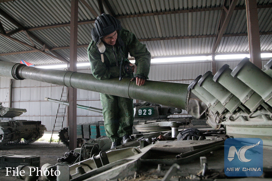 Canada greenlights weapons sale to Ukraine: media