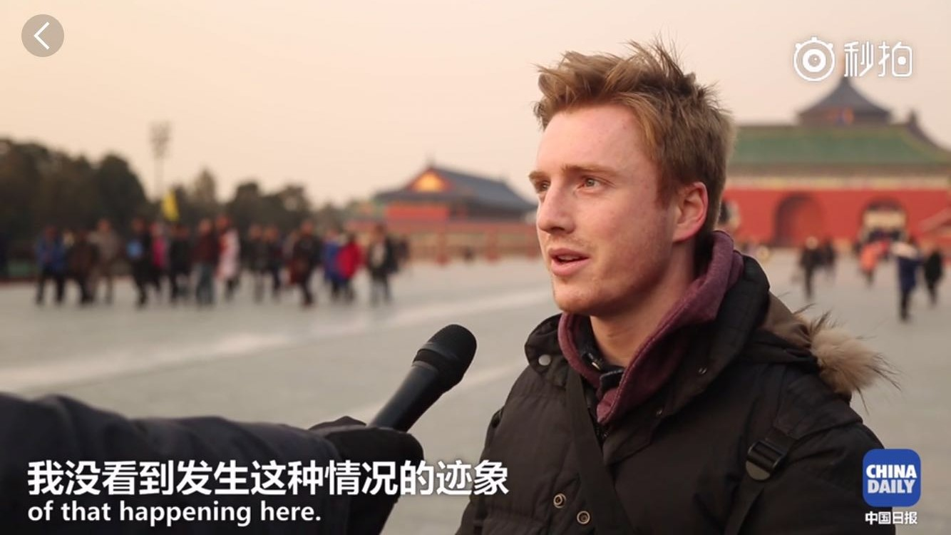 Video| China is a safe place to visit