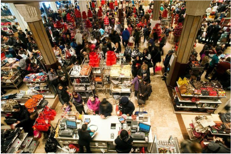 US retail sales surge; weekly jobless claims fall